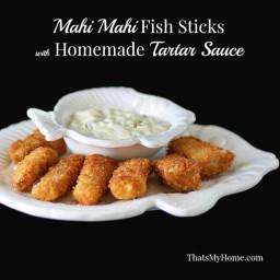 Mahi Mahi Fish Sticks