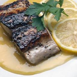 Mahi-Mahi with Orange Beurre Blanc Sauce