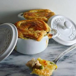 Main - Cocotte Chicken Pot Pie