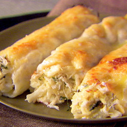 Main - Crab and Ricotta Cannelloni