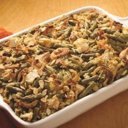 Main Dish Chicken, Rice and Green Bean Casserole