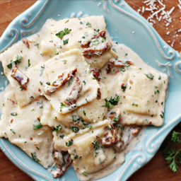 Main - Ravioli with Sundried Tomato