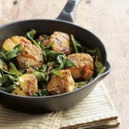 Main - Scallops & Spinach