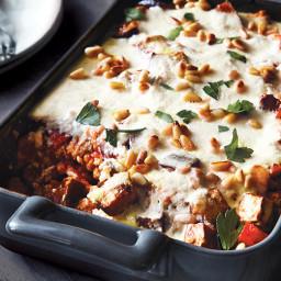 Make a Lighter Baked Chicken Moussaka In 30 Minutes