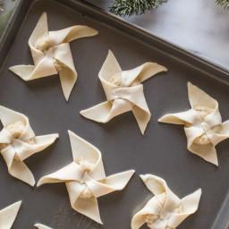 Make Ahead Almond Pinwheels