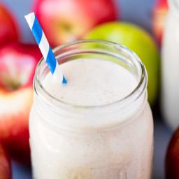 Make Ahead Apple Pie Oatmeal Smoothie