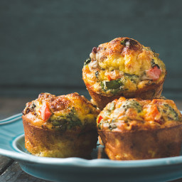 Make-Ahead Crustless Mini-Quiches
