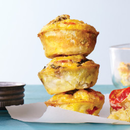 Make-Ahead Mini Frittatas