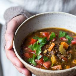 Make Life Simple Instant Pot Lentil soup