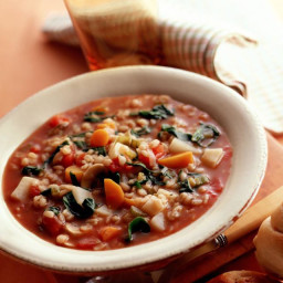 Make Warming Crockpot Barley Vegetable Soup for a Hearty and Tasty Meal