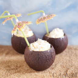 Make Your Own Chocolate Coconut Dessert Cups