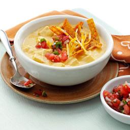 Makeover Chicken Enchilada Soup