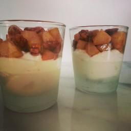 Makkelijk dessert: Griekse yoghurt met Peer en Pecannoten