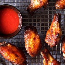 Malaysian BBQ Chicken Wings