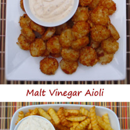 Malt Vinegar Aioli