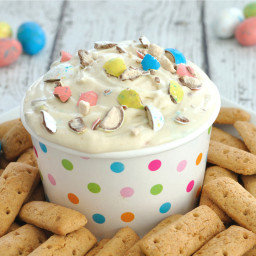 Malted Milk Easter Dip