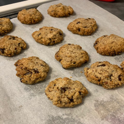 Mama D's healthy chocolate chip cookies