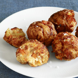 Mama Kaye's Salmon Breakfast Croquettes