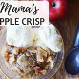 Mama's Apple Crisp