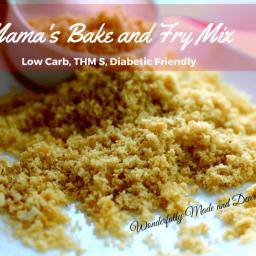 Mama's Bake and Fry Mix