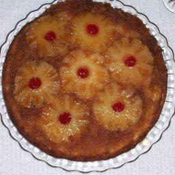 Mama's Pineapple Upside Down Cake