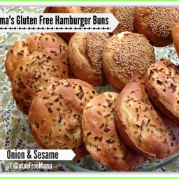 Mama's Basic Hamburger Bun Recipe with 4 Variations!