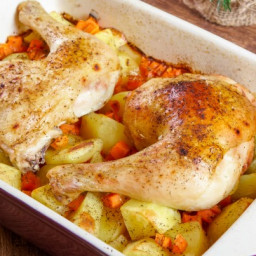 Mamma's Famous Roasted Chicken