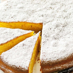 Mandarin and olive oil cake