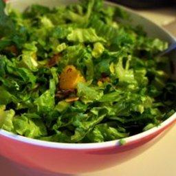 Mandarin Orange Lettuce Salad with Carmelized Almonds Recipe