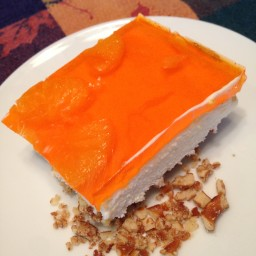 Mandarin Orange Pretzel Salad/Dessert