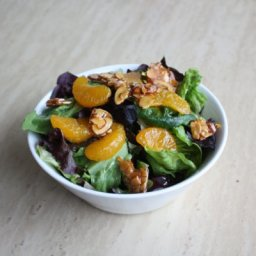 Mandarin Orange & Almond Salad