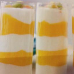 Mango and Yogurt Parfait