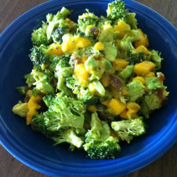 Mango, Avocado & Broccoli Salad