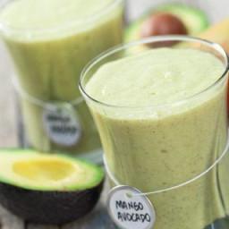 Mango-Avocado Smoothie Recipe