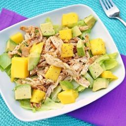 Mango Avocado Spices Chicken Salad