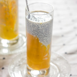 Mango Chia Seed Breakfast Drink