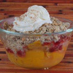 Mango Cranberry Crisp