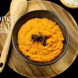 mango dal recipe | mamidikaya pappu | raw mango pappu recipe