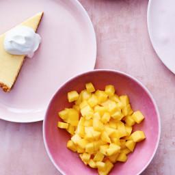 Mango-Key Lime Tart