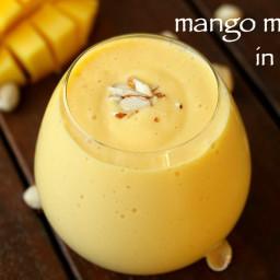 mango milkshake recipe | fresh mango shake | how to make mango shake
