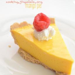 Mango Pie – Mango pulp dessert