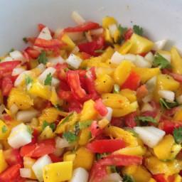 Mango Pineaple Salsa