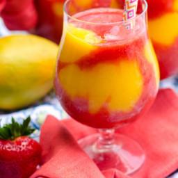 Mango Strawberry Daiquiris