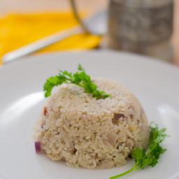 Manju Aunties Thenga Paal Saadam / Coconut Milk Rice Pilaf