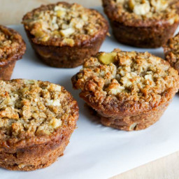 Maple Apple Oatmeal Muffins