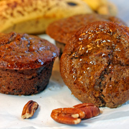 Maple Banana Bran Muffins