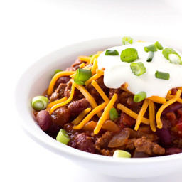Maple Bourbon Chili Recipe