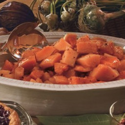 Maple-Braised Butternut Squash with Fresh Thyme