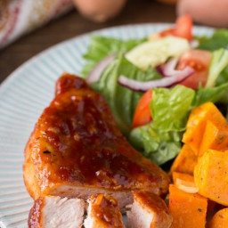 Maple Candy Pork Chops