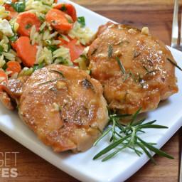 Maple Dijon Chicken Thighs